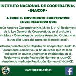 A todo el Movimiento Cooperativo